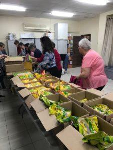 Pesach Food Distribution Volunteers