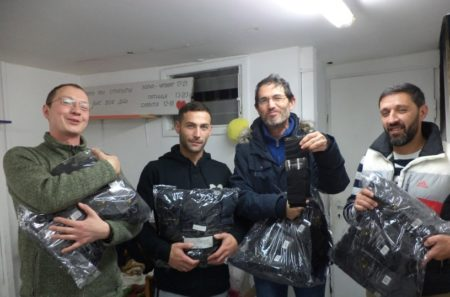 Tel Aviv Cafeteria Volunteers