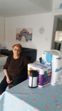 Senior receives aid from Sderot aid center