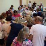 Aid Recipients in Haifa Aid Center