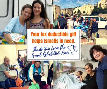 Israel Relief Aid Donation
