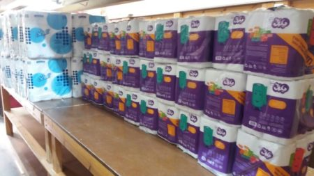 Sderot Aid Center Supply delivery