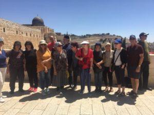 Israel Relief Aid June Jerusalem Tour for impoverished Israelis