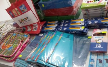 Israel Relief Aid School Supply event