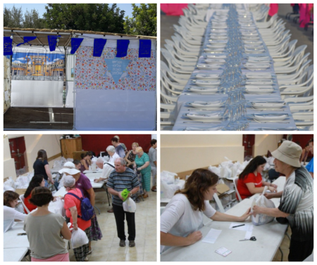 Israel Relief Aid Sukkot Events