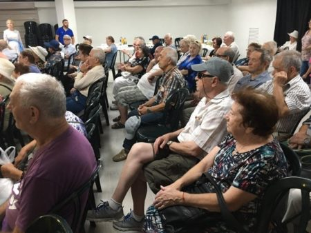 Israel Relief Aid Sukkot Event for Holocaust Survivors in Haifa