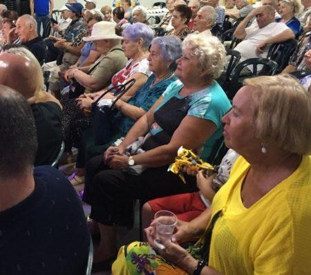 Israel Relief Aid Sukkot Event for Holocaust Survivors in Haifa