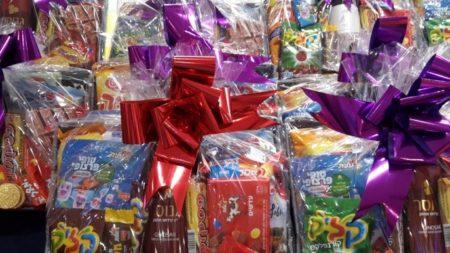 Purim gift bags