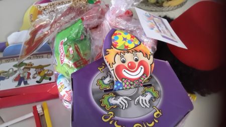 Purim treats and gifts