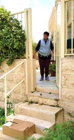 Israel Relief Aid Coronavirus supplies delivery in Jerusalem
