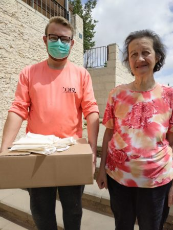 Israel Relief Aid Passover grocery delivery