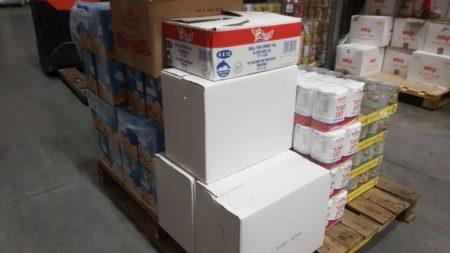 Israel Relief Aid coronavirus supplies