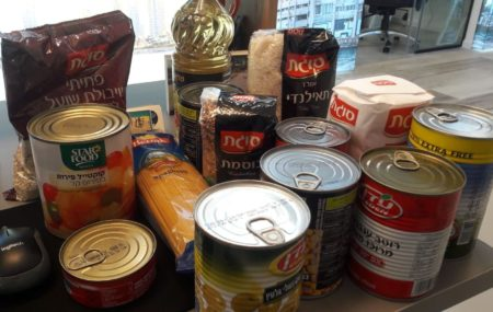 Grocery delivery from Israel Relief Aid for Israelis in  Need