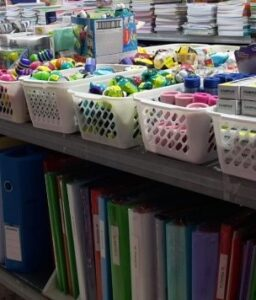 School supplies donated to the Ethiopian community from Israel Relief Aid