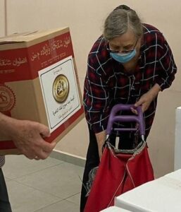 Holocaust Survivor receives food for Rosh HaShanah from Israel Relief Aid