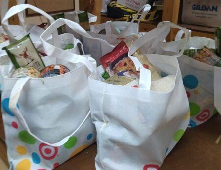 Israel Relief Aid food bags