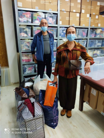 Israelis in need receive Israel Relief Aid from Ashdod Aid Center