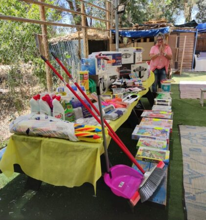 Manager of Ben Shemen Day Center thanks Israel relief Aid for donated goods