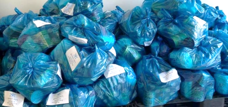 Food Bags for Israel Relief Aid Reconciliation Project
