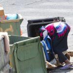 Homeless Woman in Israel